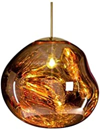 Lámpara Araña De Techo Volcánico De Lava Bar Restaurante Cafe Hall Escalera Luces Decorativas Personalidad Dormitorio