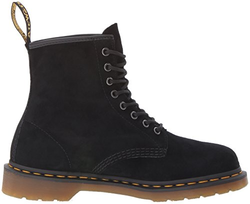 Dr. Martens 1460 Soft Buck, Brogues Mixte Adulte Noir (Nero)