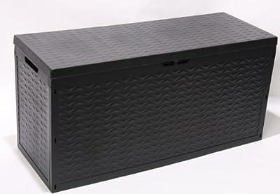 Kissenbox, Auflagenbox, Gartentruhe Cargo, 120x45x60, anthrazit