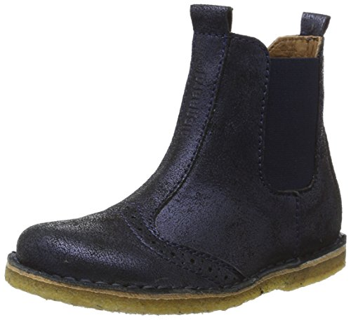 Bisgaard Unisex-Kinder Stiefelette Chelsea Boots, Blau (611 Blue), 29 EU (Boot Mädchen)