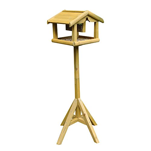 Kingfisher Premium Bird Table with Built in Feeder Test