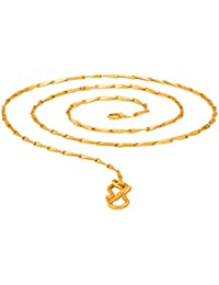 BFC- Buy For Change Traditional One Gram Gold Plated Short Chain For Woman And Gils