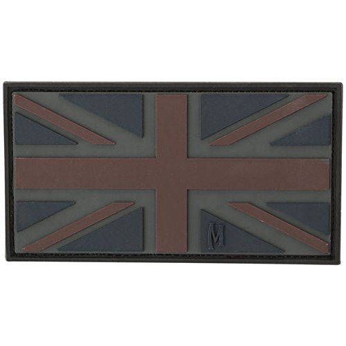 Maxpedition United Kingdom Flag (Stealth) Moral Patch