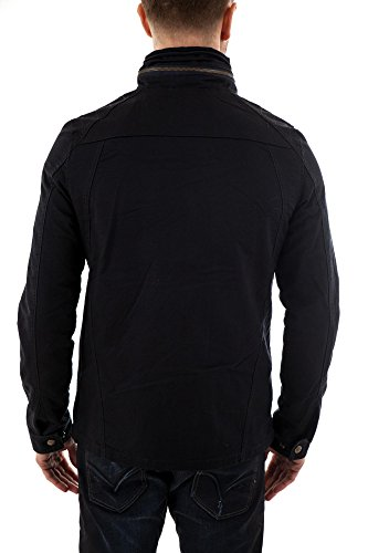 Redskins Marwin - Trench - Manches longues - Homme Noir (Black)