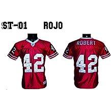 Camiseta Futbol Americano Rojo NY FRIDAYS st/01 (XS)