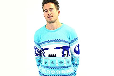 AT-AT Official Star Wars Christmas Jumper / Sweater (2X-Large) (M Und S Christmas Jumper)