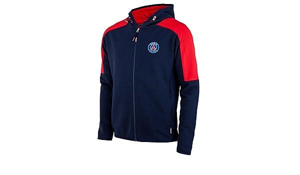 feccdcc8b53f Sweatjacke mit Kapuze, Paris Saint Germain, Kindergröße, offizielles  Lizenzprodukt  Amazon.de  Sport   Freizeit