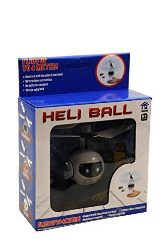 Heli Ball Galactar - Figur: Roboter - Flughöhe: 4m - Infrarot Induktion reagiert auf Handbewegung