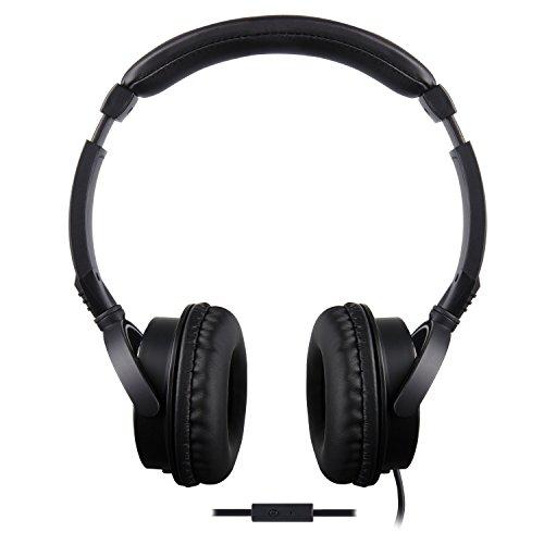 TDK ST170 OverEar-Kopfhörer mit Smartphone-Control (3,5mm Klinkenstecker) Schwarz