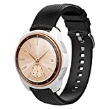 For Gear S3 Frontier/Galaxy Watch, Diadia Soft TPU Protection Silicone Full Case Cover For Gear S3 Frontier (White, 42mm)