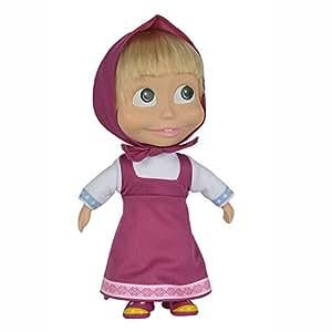 Simba Masha and the Bear Masha Doll 9 Pink Dress