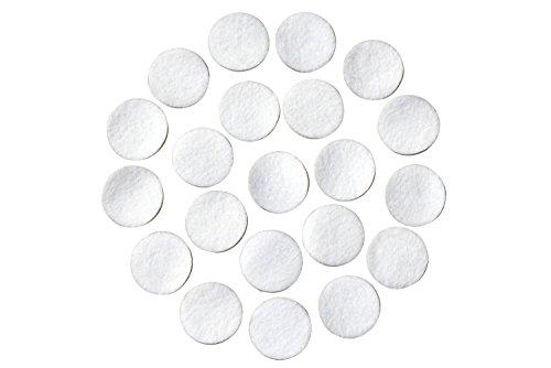 Weiß Filzklebepunkte; 1/5,1cm breit, 3/10,2cm breit, 2,5cm breit oder 3,8cm breit; verschiedene Paket Größen; den Bereichen Großhandel, sterben; DIY Projekte 240 Count 3/4