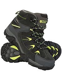Mountain Warehouse Botas Rapid para niños - Botas Impermeables, Zapatos con Suela Resistente para niños, Botas de montaña con Empeine de Malla - para Caminar, Viajar