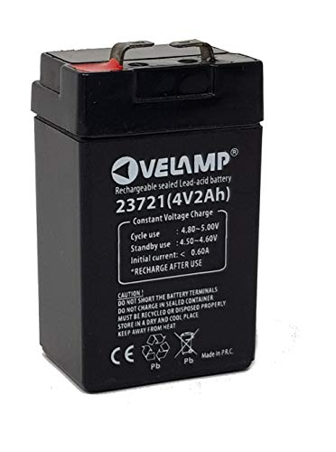 Batteria al piombo Ricaricabile 4V 2A