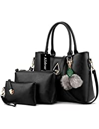 Alidear Moda Mujeres Bag Bolsos bandolera Mutil Function Bag Crossbody Bag Tote Carteras de mano Pu