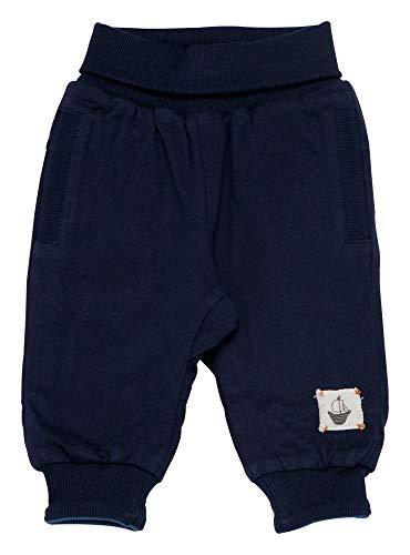 Sigikid Jungen Wendehose, Baby Hose, Blau (Dress Blue 235), (Herstellergröße: 92)