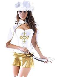 Sexy Ladies Captains Schatz Karibik Piraten-Halloween-Kost¨¹m