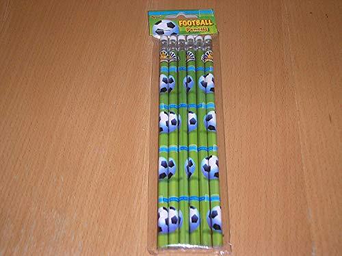 Bleistifte mit Radiergummi, für Jungen und Partytüten, 3 Packungen mit 6 Stück
