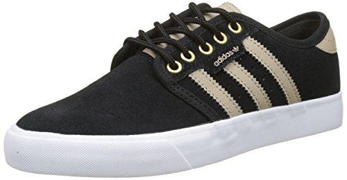 adidas Herren Seeley Skateboardschuhe, Schwarz (Core Black/Trace Khaki/Footwear White), 38 EU (Skateboarding Adidas)