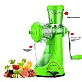 Fruit And Vegetable Juicer With Steel Handle And Waste Collector (Multicolor)-10 - B07C5BD8PJ