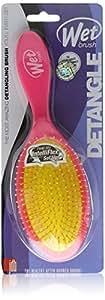 The Wet Brush Pink Brosse démêlante pour cheveux Rose fluo