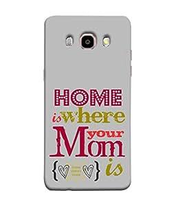 PrintVisa Designer Back Case Cover for Samsung J7 (2016) (home is where mom is)