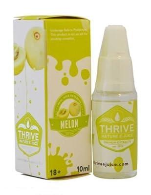 1 X Melone GEDEIHEN - aromatisiert Nr. E-Juice / E-Liquid Nikotin - Prime extrahiert Qualität garantiert (0 % NIKOTIN) von THRIVE - Flavoured E-Juice
