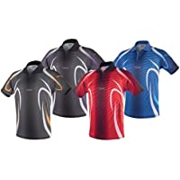 Tibhar Camiseta Beat, color azul, tamaño xx-large