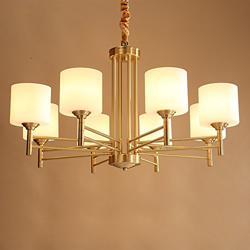 5151BuyWorld Lámpara Moderno LED American Chandeliers