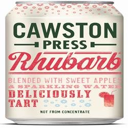 Cawston Press - Cans - Apple & Rhubarb Juice -