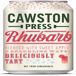 Cawston Press - Cans - Apple & Rhubarb Juice - 330ml