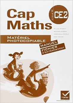 Cap Maths CE2 éd. 2011 - Matériel photocopiable (versions manuel et fichier) de Dany Madier,Georges Combier,Roland Charnay ( 15 juillet 2011 )