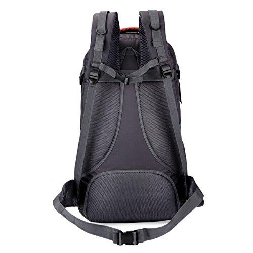 Outdoor Lässig Bergsteigen Tasche Schulter Tasche Groß Kapazität 40L Reisen Rucksack Dark
