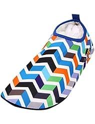 SHOBDW De secado rápido de Calcetines de Buceo Natación Zapatos de Agua Unisex para Buceo Snorkel Surf Piscina Playa Yoga Deportes Acuáticos talla grande, Hombres y Mujeres (Azul, 2XL)