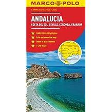 Andalucia, Costa Del Sol, Seville, Cordoba, Granada Marco Polo Map (Marco Polo Maps)