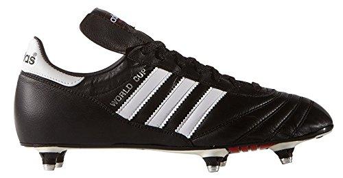 Adidas - World cup visse cuir - Chaussures football vissées - Noir - Taille 39.5