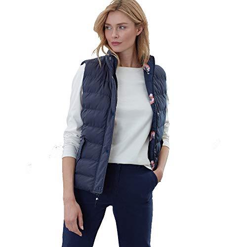 Joules Outerwear Holbrook, Damen, Holbrook, Marine, Marineblau, 16 Printed Reversible Jacke