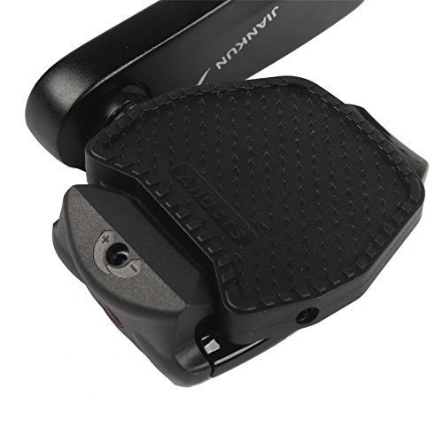 Chooee Clipless-Plattform Adapter Platten für Shimano Wellgo SPD Speedplay,schwarz