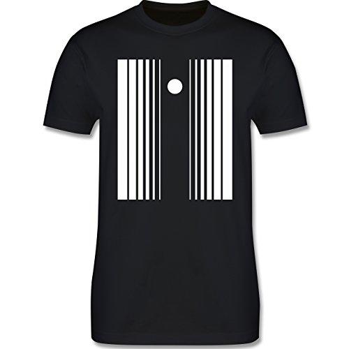 Karneval & Fasching - Doppler Effekt - L - Schwarz - L190 - Herren Premium T-Shirt