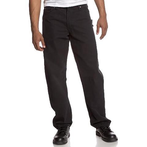 Dickies pantaloni WEATH erford Nero du336BK Rinsed Black 34W /