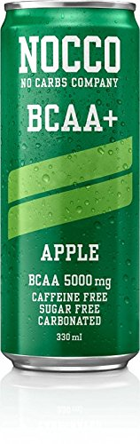 NOCCO (No Carbs Company) BCAA (Caffeine Free) – Apple (24)