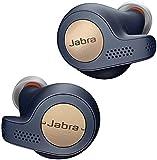 Jabra Elite 65t Active Cuffie Auricolari True Wireless, 100% senza Fili, In-Ear, Bluetooth 5.0 con Custodia di Ricarica e Accesso One-Touch ad Amazon Alexa, Sport, Blu/Rame