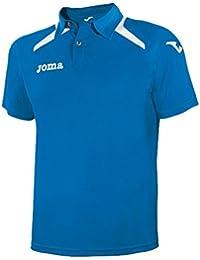 Joma Champion II - Polo para hombre, color azul royal / blanco, talla S