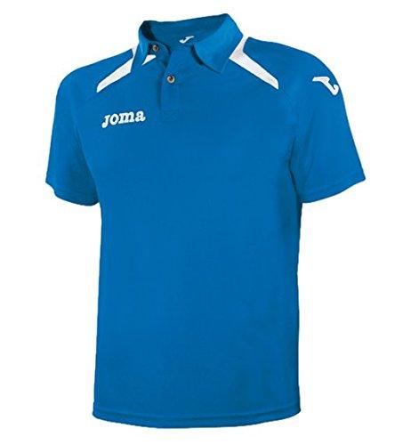 Joma Champion II - Polo para hombre, color azul royal / blanco, talla