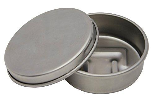 Trangia Gel Burner - Large, Silver