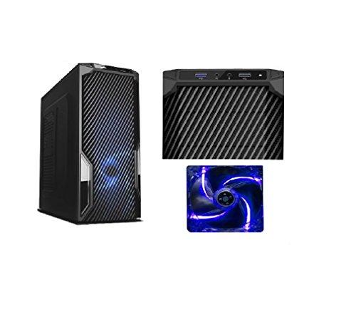RGDIGITAL - Desktop PC GAME GAMING ALANTIK CON VENTOLA LED BLU AMD A4-6300 2x3.7GHz (turbo fino a 3.90GHz) 1TB HDD / 8GB RAM / AMD Radeon HD 8370D / WiFi / DVD RW / USB3.0 USB2.0 /CON LICENZA WINDOWS 7 PROFESSIONAL 64bit UFFICIO LAVORO AZIENDE SCUOLA SALA SCOMMESSE
