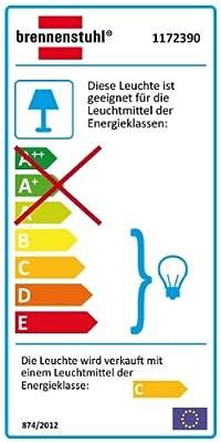 Brennenstuhl Halogenstrahler mit Bewegungsmelder Infrarot / Flutlicht ideal als Baustrahler (Außenstrahler IP44 geprüft)