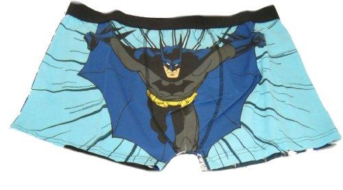 Batman 1 Paire de Boxer Trunks court de adultes. Une grande idée de cadeau pour tout fan de Ces Boxer avoir une conception différente sur le dos à l'avant et avoir une taille élastiquée