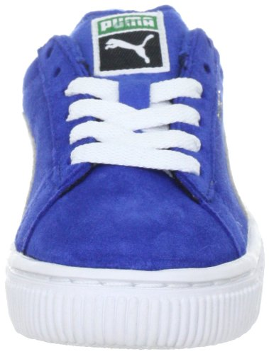 Puma Suede Kids 353636 Unisex - Kinder Sneaker Blau (olympian blue-white 02)