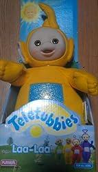 1998 Teletubbies 12 Inch Plush Laa Laa Doll
